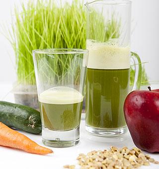 Los jugos verdes